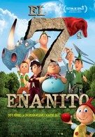 Der 7bte Zwerg - Spanish Movie Poster (xs thumbnail)
