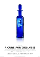 A Cure for Wellness - German Movie Poster (xs thumbnail)