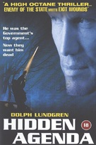 Hidden Agenda - British DVD cover (xs thumbnail)
