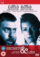 Secrets & Lies - British DVD movie cover (xs thumbnail)