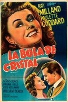 The Crystal Ball - Argentinian Movie Poster (xs thumbnail)