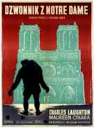 The Hunchback of Notre Dame - Polish Movie Poster (xs thumbnail)