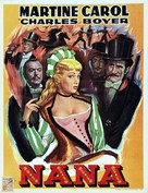 Nana - Belgian Movie Poster (xs thumbnail)