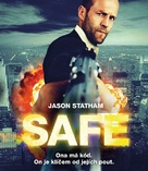 Safe - Czech Blu-Ray cover (xs thumbnail)