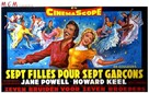Seven Brides for Seven Brothers - Belgian Movie Poster (xs thumbnail)