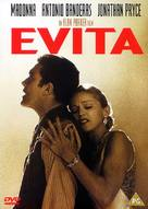 Evita - British DVD movie cover (xs thumbnail)