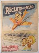 Recluta con niño - Spanish Movie Poster (xs thumbnail)