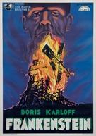 Frankenstein - Italian Re-release poster (xs thumbnail)