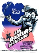 Flaming Star - French Movie Poster (xs thumbnail)