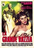 Razzia sur la Chnouf - Italian Movie Poster (xs thumbnail)