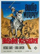 Apache Rifles - Danish Movie Poster (xs thumbnail)