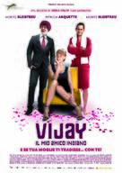 Vijay and I - Italian Movie Poster (xs thumbnail)