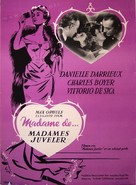 Madame de... - Danish Movie Poster (xs thumbnail)