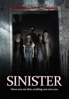 Sinister - DVD movie cover (xs thumbnail)