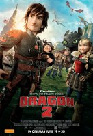 How to Train Your Dragon 2 - Australian Movie Poster (xs thumbnail)