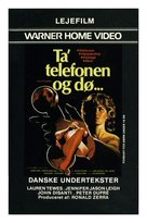 Don't Answer the Phone! - Danish Movie Poster (xs thumbnail)