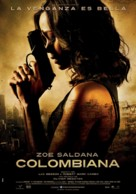 Colombiana - Spanish Movie Poster (xs thumbnail)