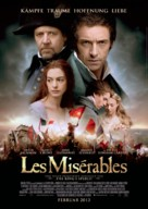 Les Misérables - German Movie Poster (xs thumbnail)