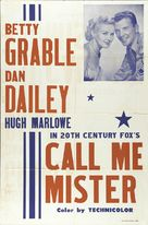 Call Me Mister - poster (xs thumbnail)