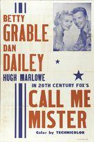 Call Me Mister - poster (xs thumbnail)