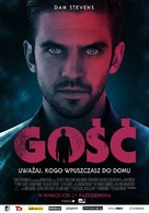 The Guest - Polish Movie Poster (xs thumbnail)