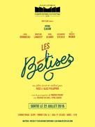 Les bêtises - French Movie Poster (xs thumbnail)
