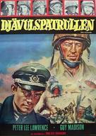 Testa di sbarco per otto implacabili - Swedish Movie Poster (xs thumbnail)