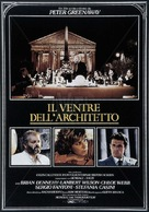 The Belly of an Architect - Italian Movie Poster (xs thumbnail)