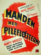 The Pied Piper - Danish Movie Poster (xs thumbnail)