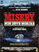 Misery - Italian Movie Poster (xs thumbnail)
