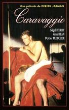 Caravaggio - Spanish VHS movie cover (xs thumbnail)
