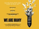 We Are Many - British Movie Poster (xs thumbnail)