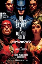 Justice League - Puerto Rican Movie Poster (xs thumbnail)