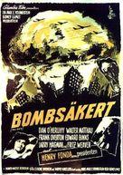 Fail-Safe - Swedish Theatrical poster (xs thumbnail)