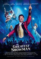 The Greatest Showman - Finnish Movie Poster (xs thumbnail)