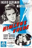 Rage in Heaven - Swedish Movie Poster (xs thumbnail)