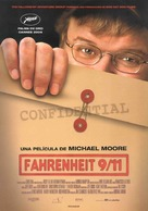 Fahrenheit 9/11 - Spanish Movie Poster (xs thumbnail)