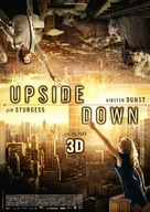 Upside Down - German Movie Poster (xs thumbnail)