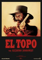 El topo - German Movie Poster (xs thumbnail)