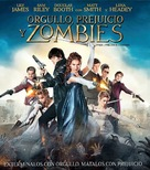 Pride and Prejudice and Zombies - Mexican Blu-Ray cover (xs thumbnail)