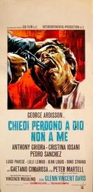 Chiedi perdono a Dio... non a me - Italian Movie Poster (xs thumbnail)