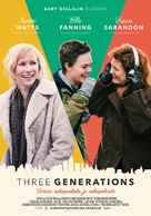 3 Generations - Finnish Movie Poster (xs thumbnail)