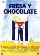 Fresa y chocolate - Cuban Movie Poster (xs thumbnail)