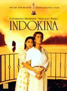 Indochine - Danish DVD cover (xs thumbnail)