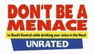 Don't Be A Menace - Logo (xs thumbnail)