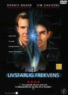 Frequency - Danish DVD cover (xs thumbnail)