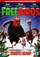 Free Birds - British DVD movie cover (xs thumbnail)