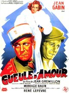 Gueule d'amour - French Movie Poster (xs thumbnail)