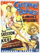 Texas Carnival - Belgian Movie Poster (xs thumbnail)