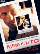 Memento - Portuguese DVD cover (xs thumbnail)